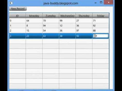 javafx dynamic layout java buddy javafx editable tableview with dynamic row