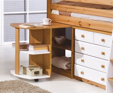 Pine Mid Sleeper Bed by Pine Mid Sleeper Bunk Bed