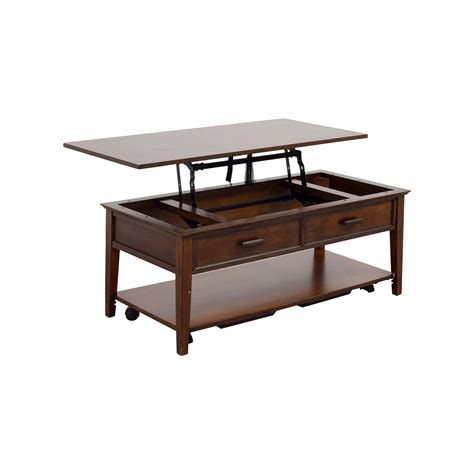 Coffee Table Shop 80 Wooden Hideaway Coffee Table Tables
