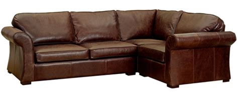 corner leather settee chatsworth vintage leather corner sofa