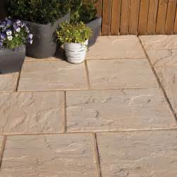 antique cotswold ashbourne mixed size paving pack