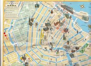 Mapa de amsterdam hacer click en el para agrandar