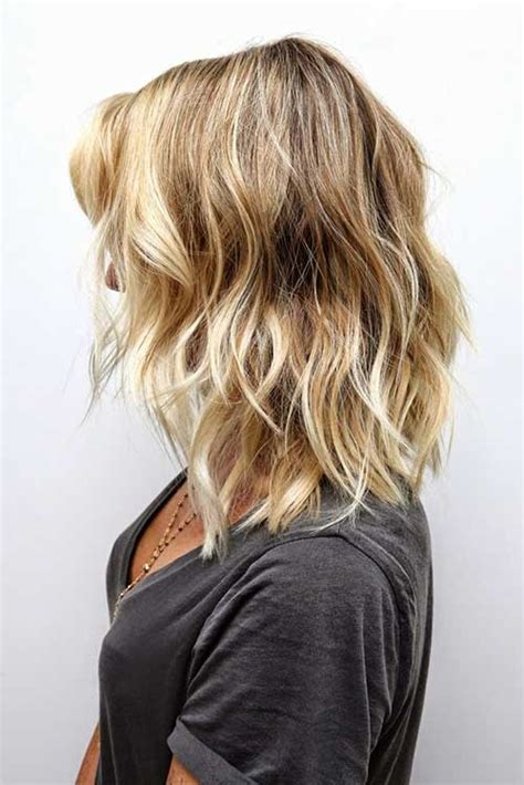 soft cut hair 20 popular wavy medium hairstyles hairstyles haircuts
