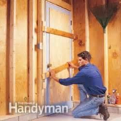 garage security a burglarproof door diy advice