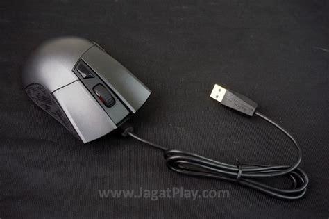 Mouse Kabel Biasa review asus rog gladius mouse gaming dengan paket penjualan melimpah jagat play