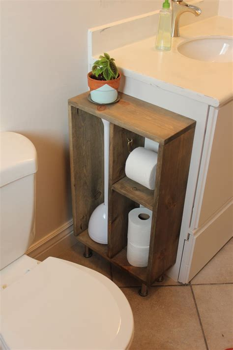 bathroom toilet paper storage diy simple brass toilet paper holder