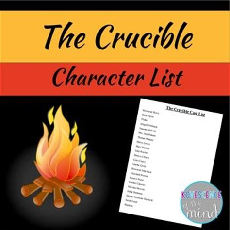 four themes of the crucible free crucible list of characters book themes pinterest