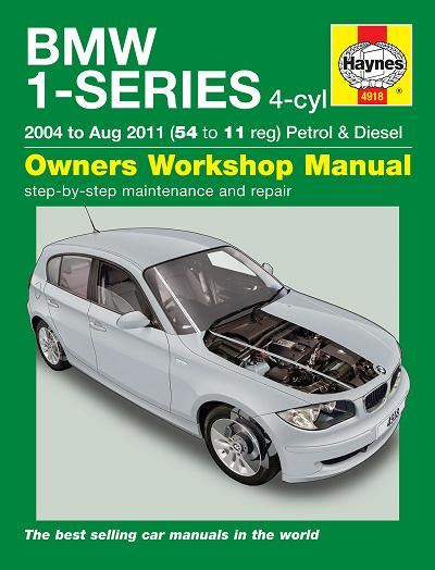 automotive repair manual 2011 bmw 1 series on board diagnostic system bmw 1 series e87 owners manual