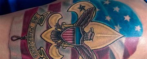 eagle scout tattoo designs 30 eagle scout designs for boy scouts of america
