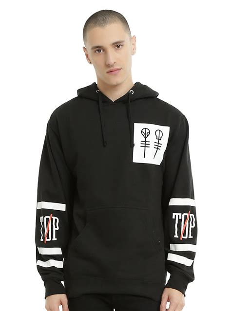 Hoodie Jumper Twenty One Pilots 1 twenty one pilots big logo hoodie topic