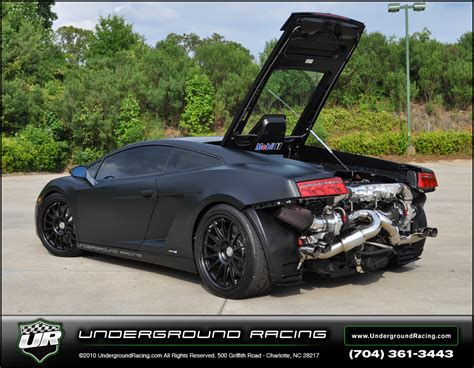 Underground Racing Lamborghini Gallardo Underground Racing 2009 Lamborghini Turbo Gallardo