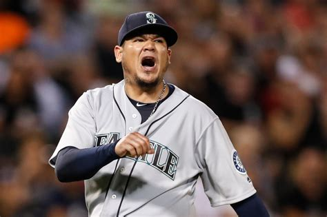 Dizzy Felix mariners notebook felix hernandez ok after dizzy spell coming