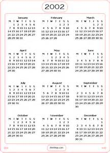 search results for year 2002 calendar calendar 2015