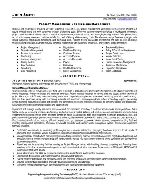project management resume exles and sles chief project engineer sle resume 20 construction