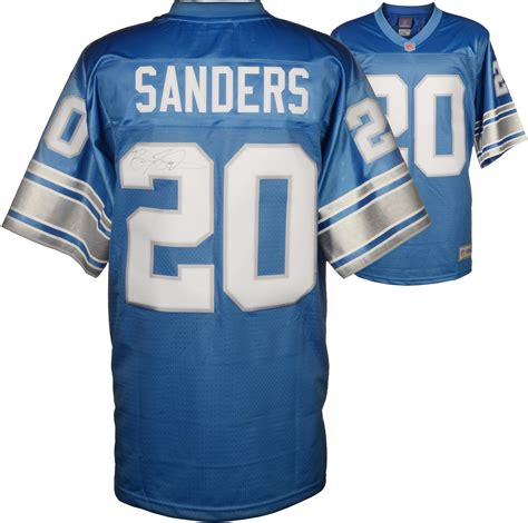 replica white barry sanders 20 jersey discover p 1190 detroit lions autographed jersey lions signed jersey
