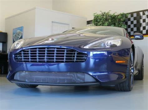 Aston Martin Db9 Msrp by Buy Used 2013 Aston Martin Db9 Coupe Blue 1 428mi