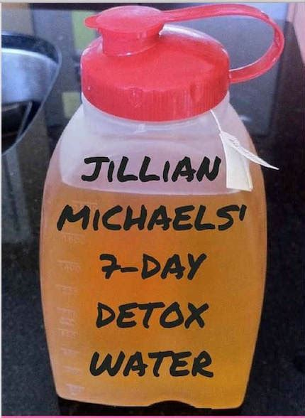 7 Day Detox Miracle Pdf by Get Jillian Detox Recipe Pdf How To Make The