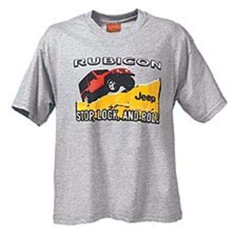 Jeep Wrangler Clothing All Things Jeep Jeep Wrangler Rubicon T Shirt