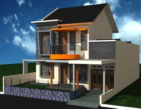 desain rumah minimalis  denah