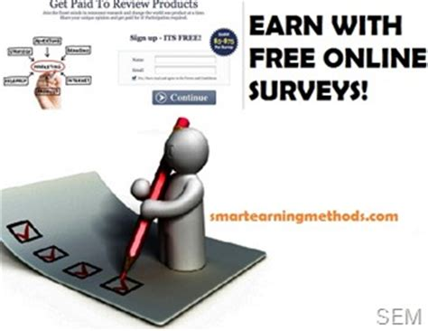 Earn Money By Filling Surveys - make money in 2012 by filling free online surveys smart