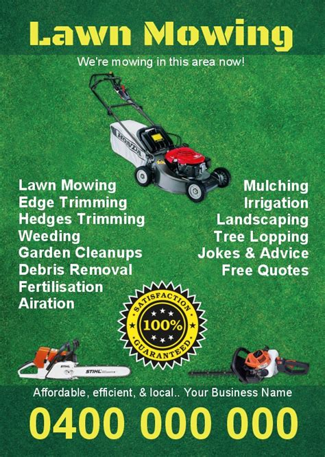 gardening invoice template one side flyers budget flyers printing