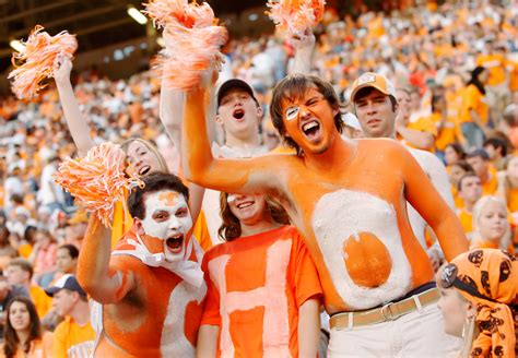 best college student sections tennessee student sections in college football espn