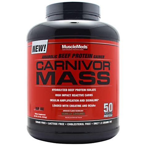 Suplemen Carnivor Mass 640rb 085642299885 musclemeds carnivor mass 5 7 lbs suplemen fitness bpom resmi