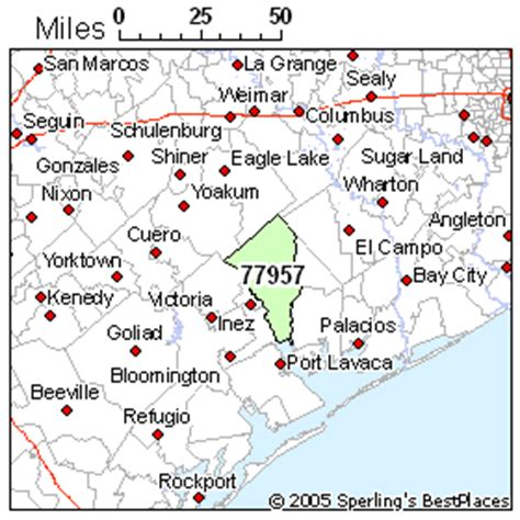 edna texas map best place to live in edna zip 77957 texas