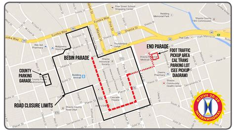 route of new year parade 2016 2016 redding lighted parade route and closures