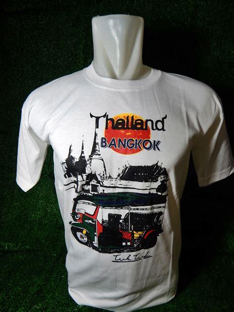 Gudang Souvenir Kaos Negara Spanyol jual kaos t shirt oleh oleh negara thailand souvenir luar negeri
