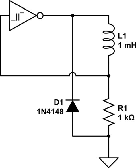 can an inductor zero resistance inductor lr oscillators no capacitor electrical engineering stack exchange