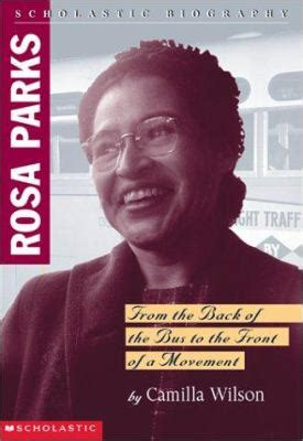 biography book about rosa parks rosa parks biography by camilla wilson cammie wilson