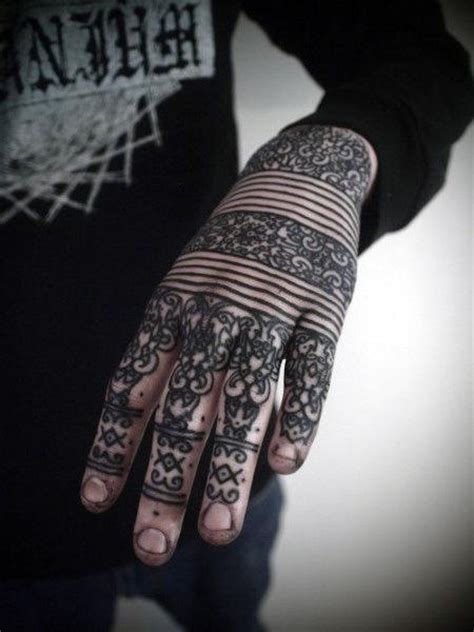 tattoo hand line top 100 best knuckle tattoos for men a fist full of ideas