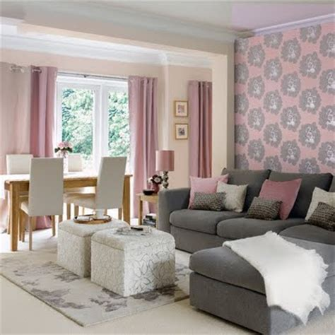 secret ice: Pink and grey bedroom ideas