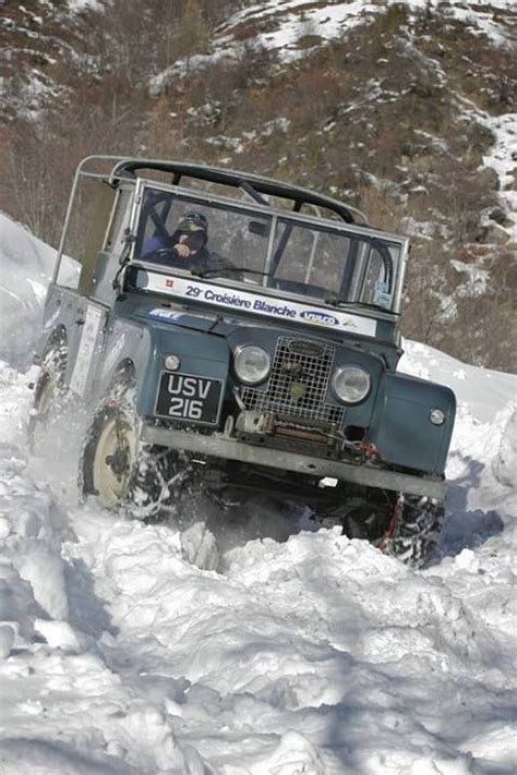 land rover snow land rover this is winter fun on four wheels range