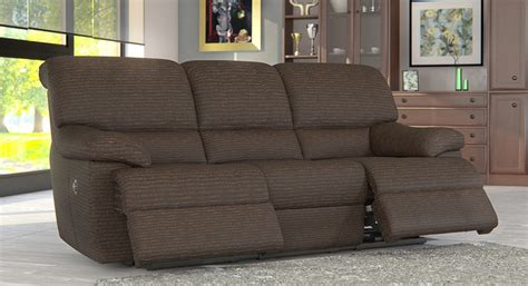 recliner fabric sofas 3 seater electric recliner fabric sofa reversadermcream com