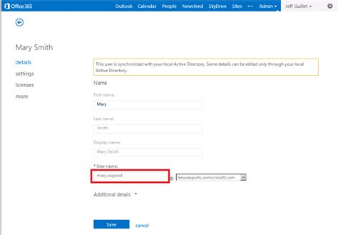 Office 365 Portal Change Display Name 13185 The Expta