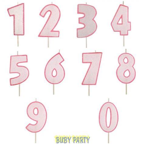candele per torte di compleanno candela numero glitter rosa per torta di compleanno buby