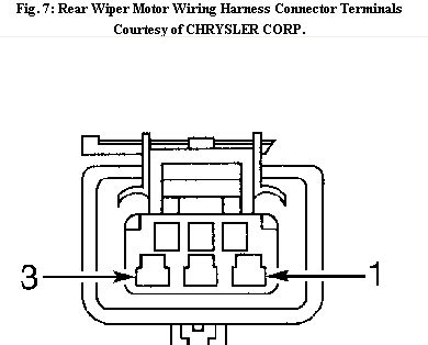 chrysler wiper motor wiring diagram wiring diagram with