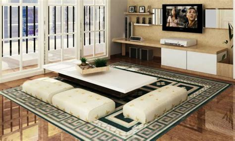 Karpet Jepang desain ruang tamu bergaya ala jepang desain rumah dijual