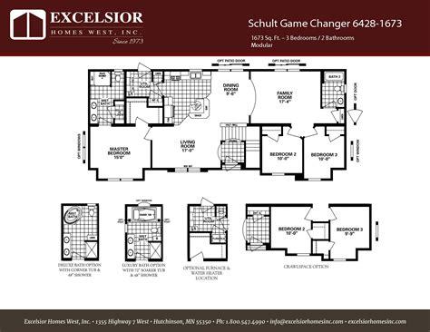 schult game changer excelsior homes west inc schult game changer 6428 1673 excelsior homes west inc
