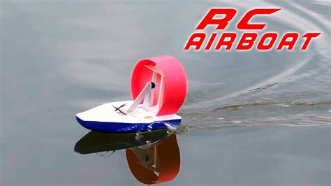 how to make a rc boat youtube diy rc airboat how to make a racing boat youtube