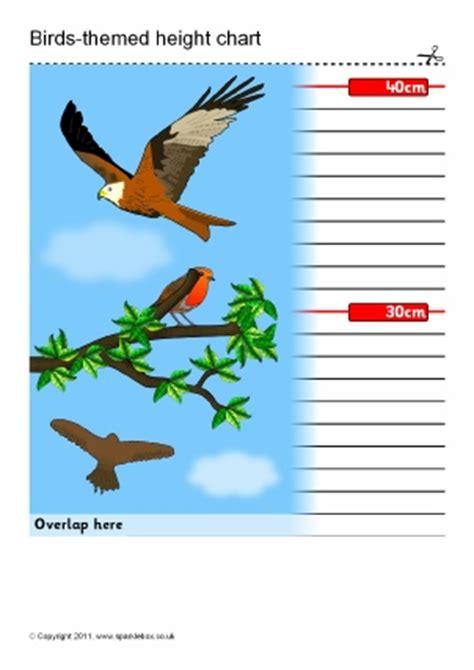 printable animal height chart free printable child height charts sparklebox