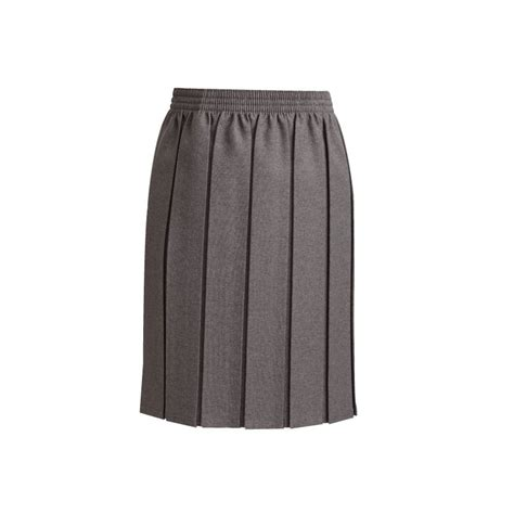 grey box pleat school skirt 7052grey st magdalene