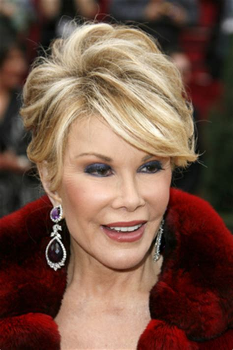 joan rivers haircut style joan rivers hairstyle makeup dresses shoes and perfume