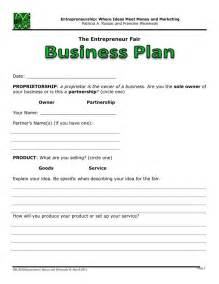 1 Year Business Plan Template Basic Business Plan Template For Kids