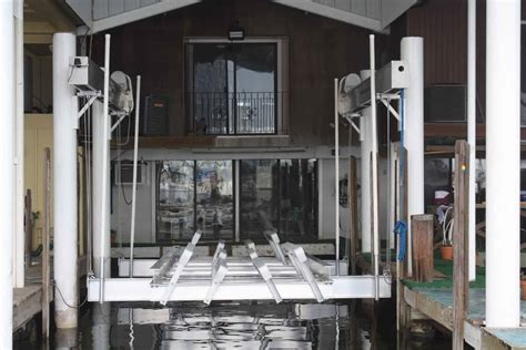imm boat lifts fort myers marine boatlifts at haugesund boat show in norway imm