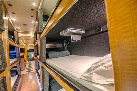 Rent A Sleeper by Image Gallery Luxury Sleeper Tour Buses
