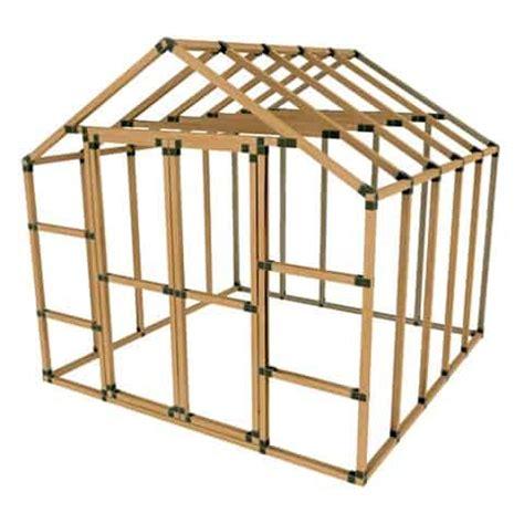 basic  storage shed kit    frames review