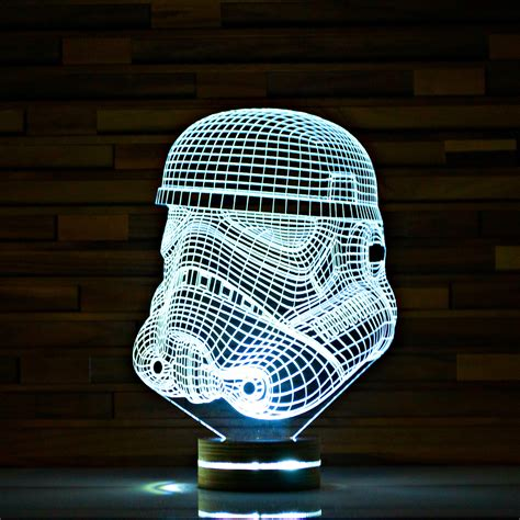 Stormtrooper // Star Wars 3D LED Lamp ArtisticLamps Touch of Modern